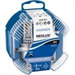 IZZÓ H4 12V HAMMER NEOLUX 50% EXTRA LIGHT